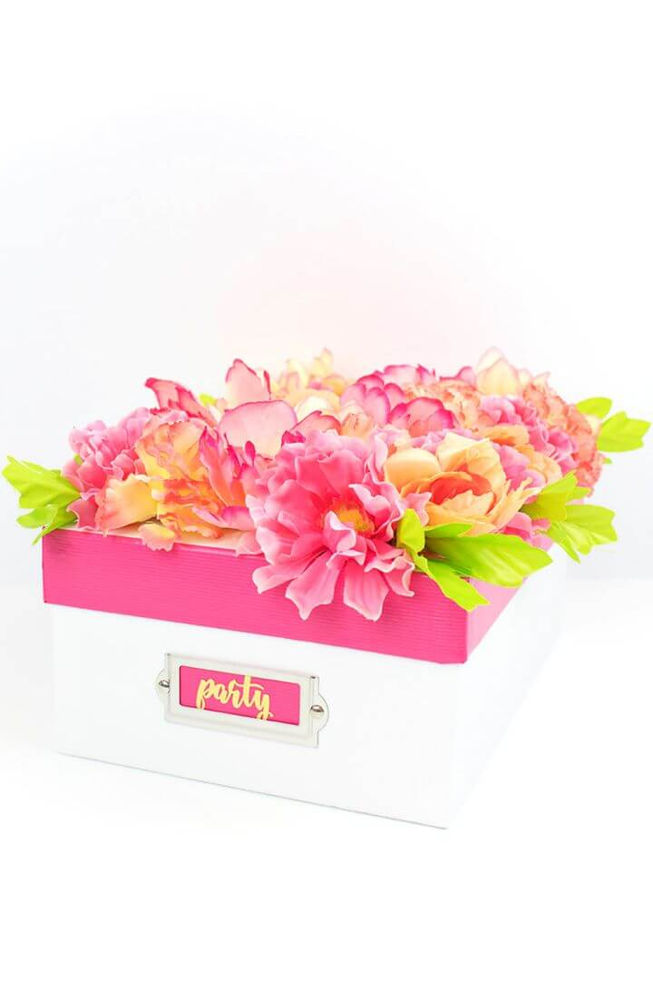 Easy DIY Flower Bridesmaid Proposal Box