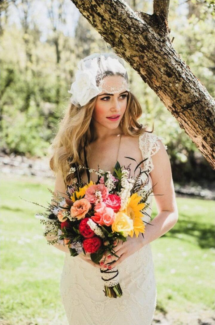 Easy DIY Vintage Boho Chic Wedding
