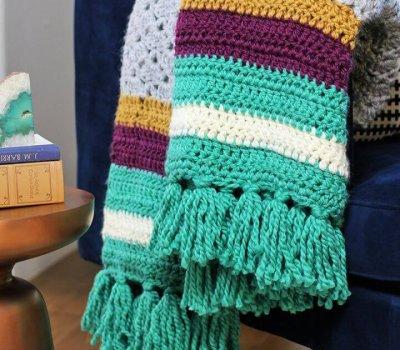 Easy Free Crochet Afghan Pattern