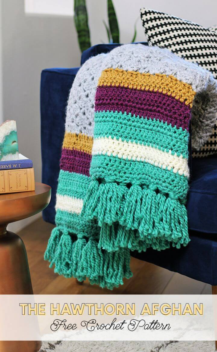 Easy Free Crochet Afghan Pattern