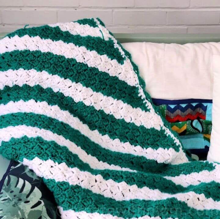 Free Crochet Corner to Corner Blanket