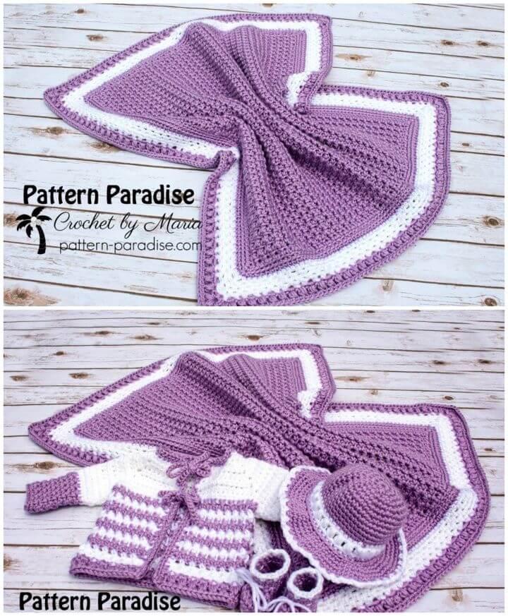Free Crochet Pattern Skylar Blanket
