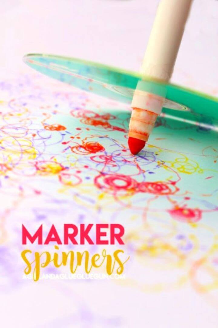How To Build A DIY Marker Spinners