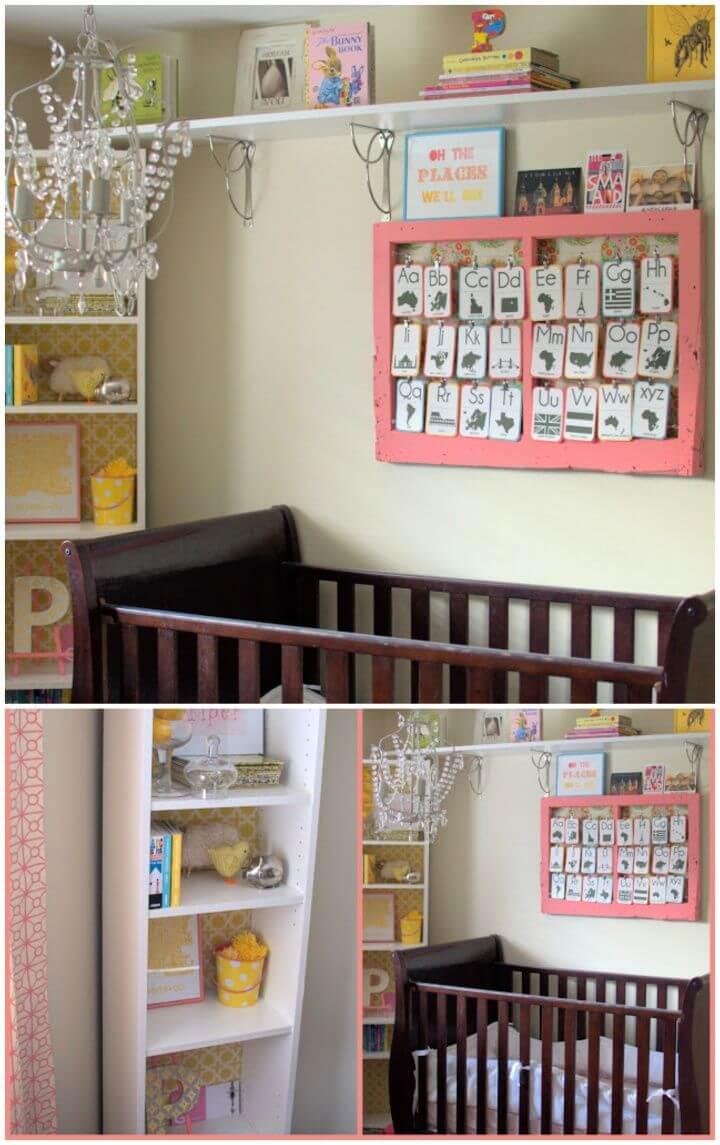 How To Build A DIY Nursery Decor Idea
