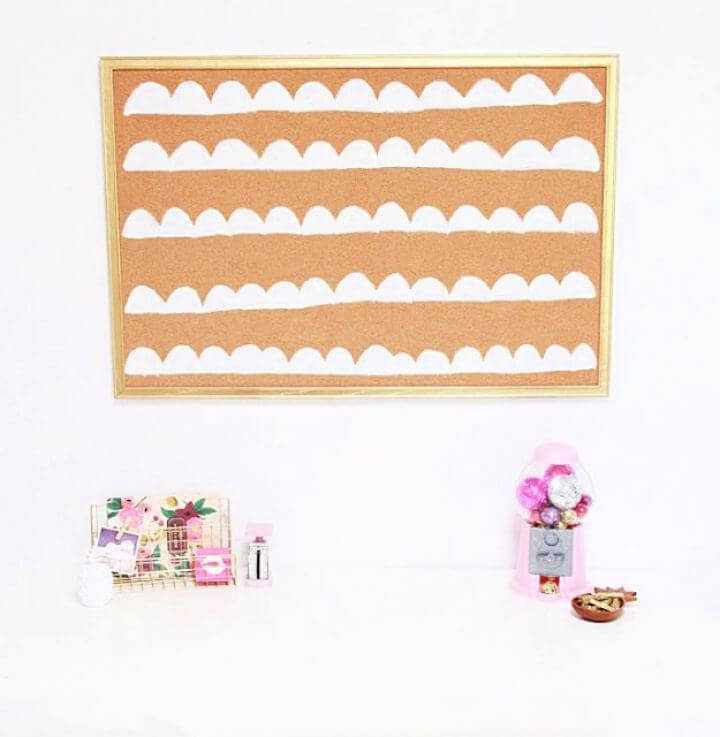 How To Build A Scalloped Cork Board