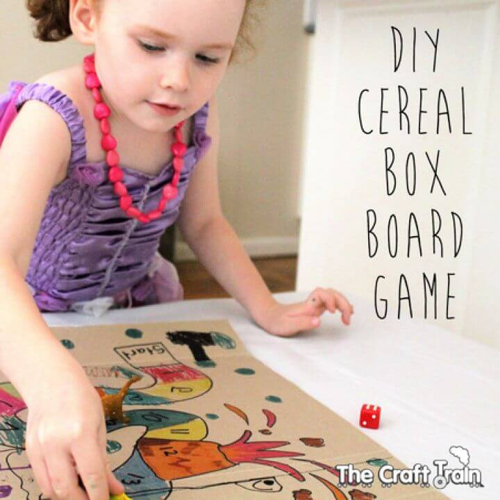 How To Build Your Own A DIY Cereal Box Board Game
