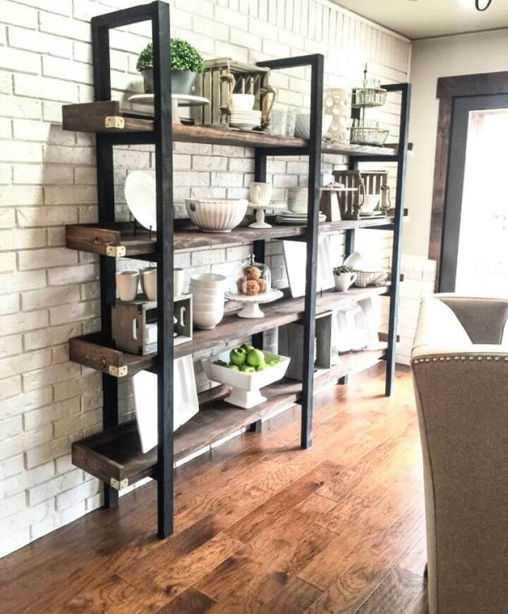 How To Build Your Own DIY Industrial Plate Rack