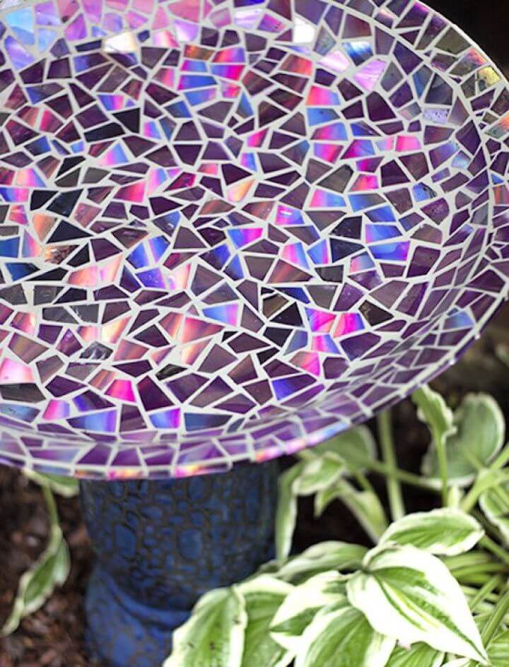 How To Create A DIY CDs Mosaic Method