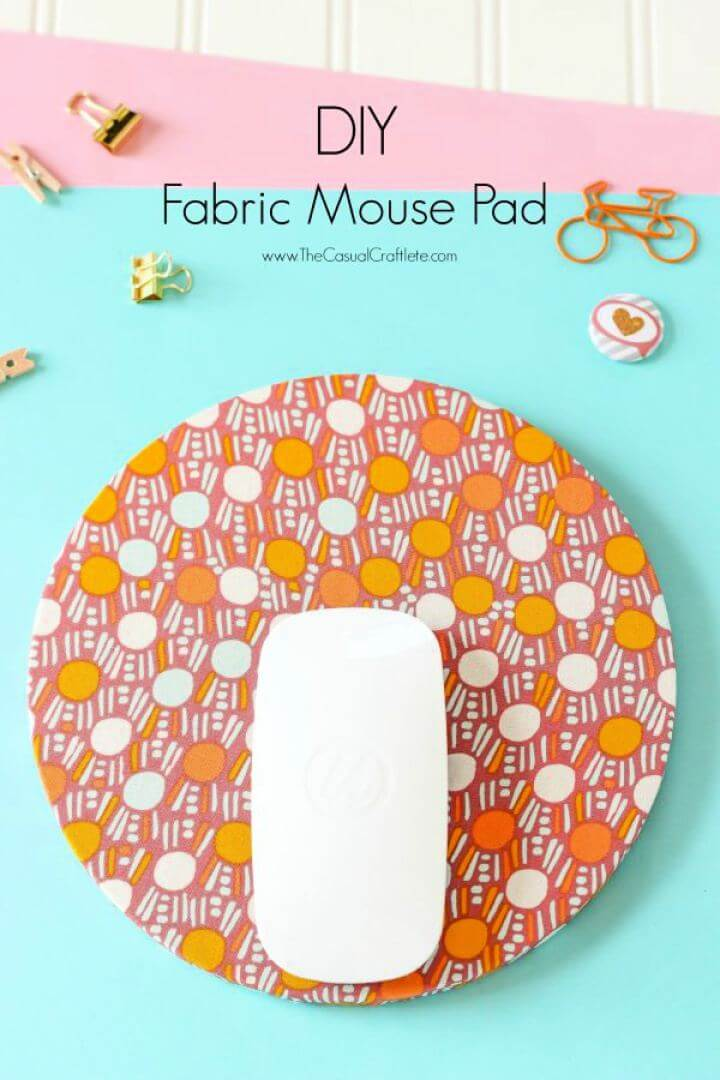 How To Create A Fabric Mouse Pad