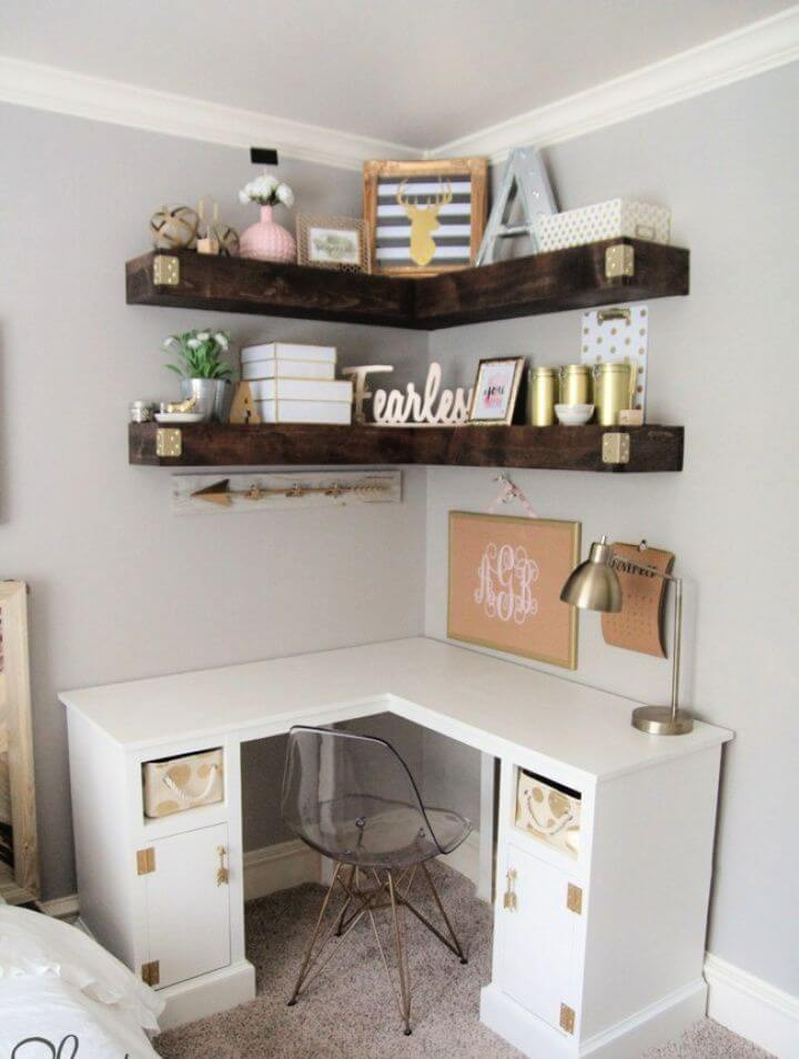 How To Create Your Own DIY Corner Desk