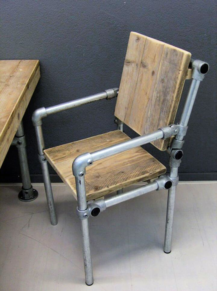 How To Create Your Own DIY Industrial Pipe Chair