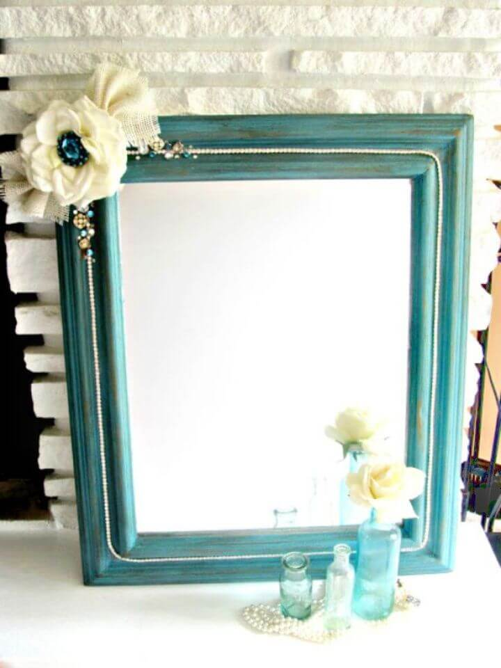 How To DIY Boho Chic Mirror