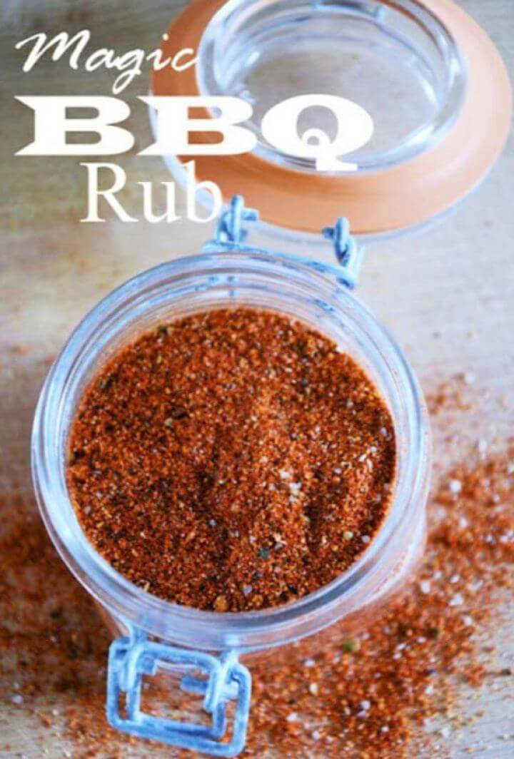 How To DIY Magic BBQ Rub For Men