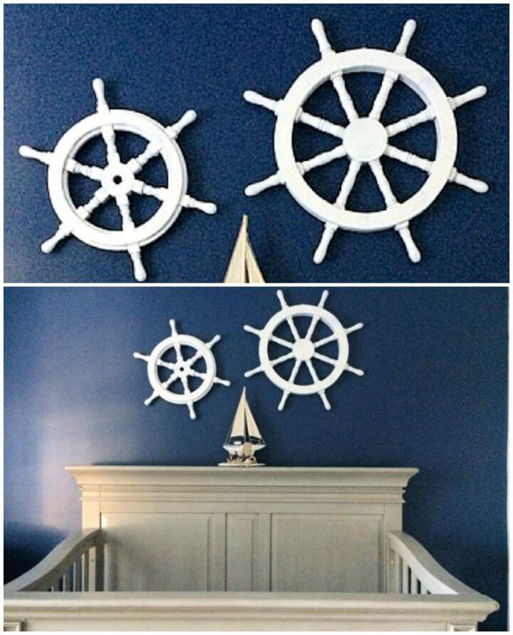 How To DIY Nursery Decorations Nautical Wall Art