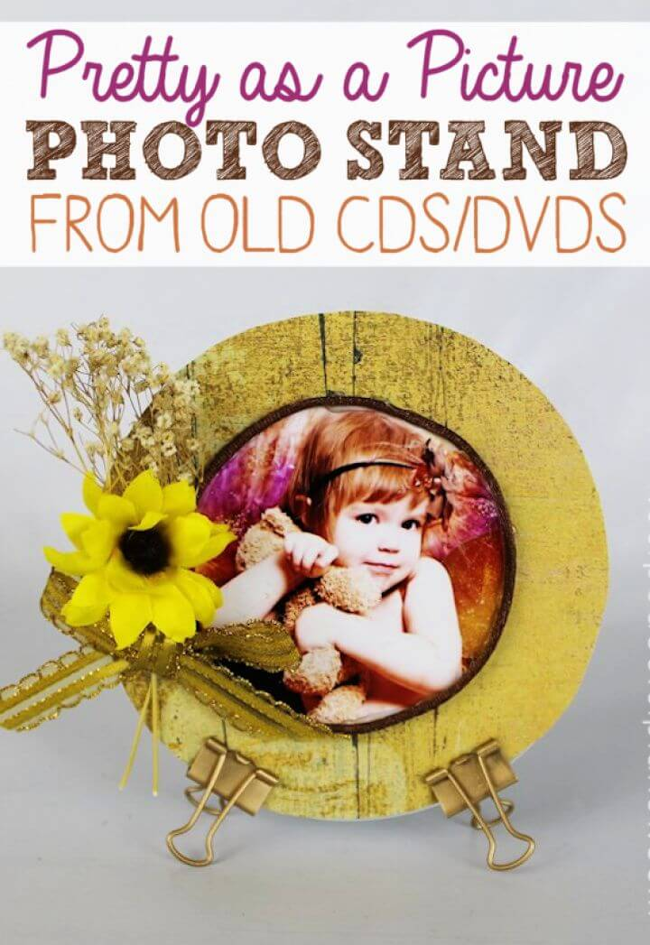 How To DIY Pretty As A Picture Photo Stand