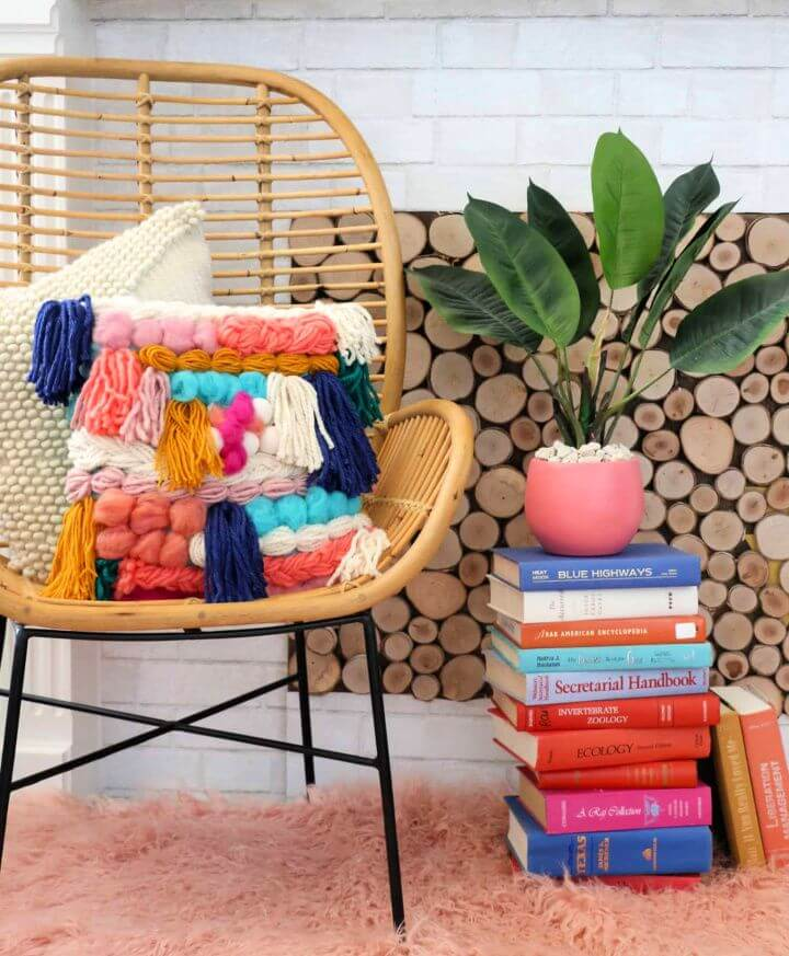 How To Make A Faux Woven Crochet Pillow