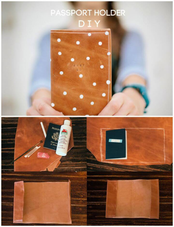 How To Make A Passport Holder For Friends