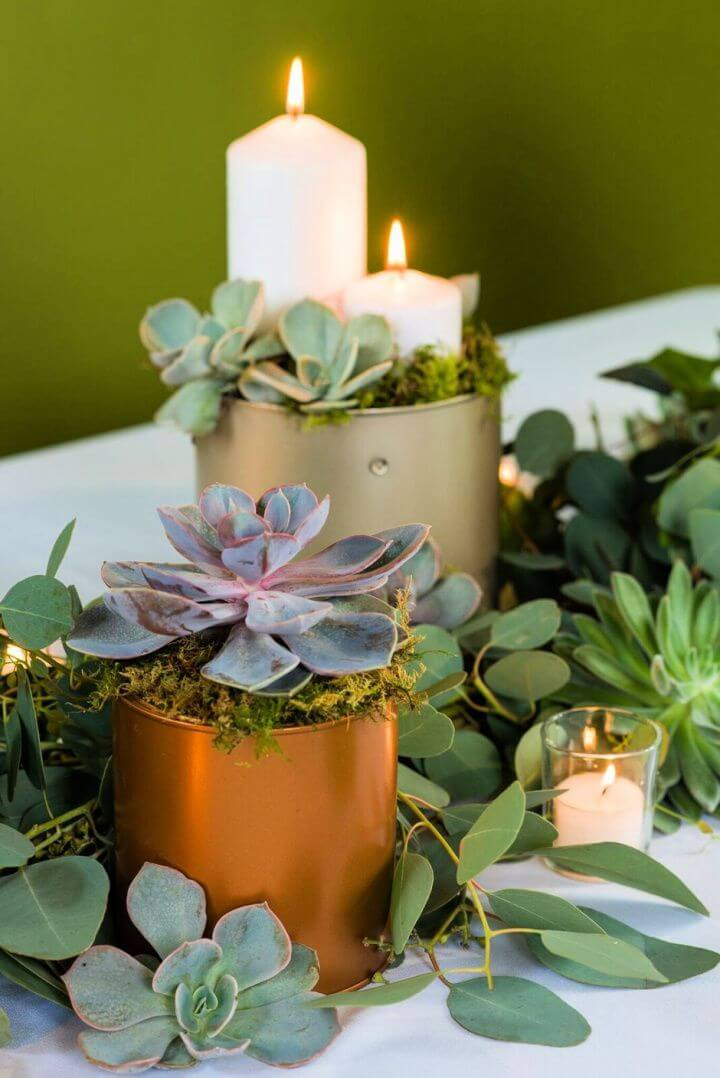 How To Make Greenery Table Garland
