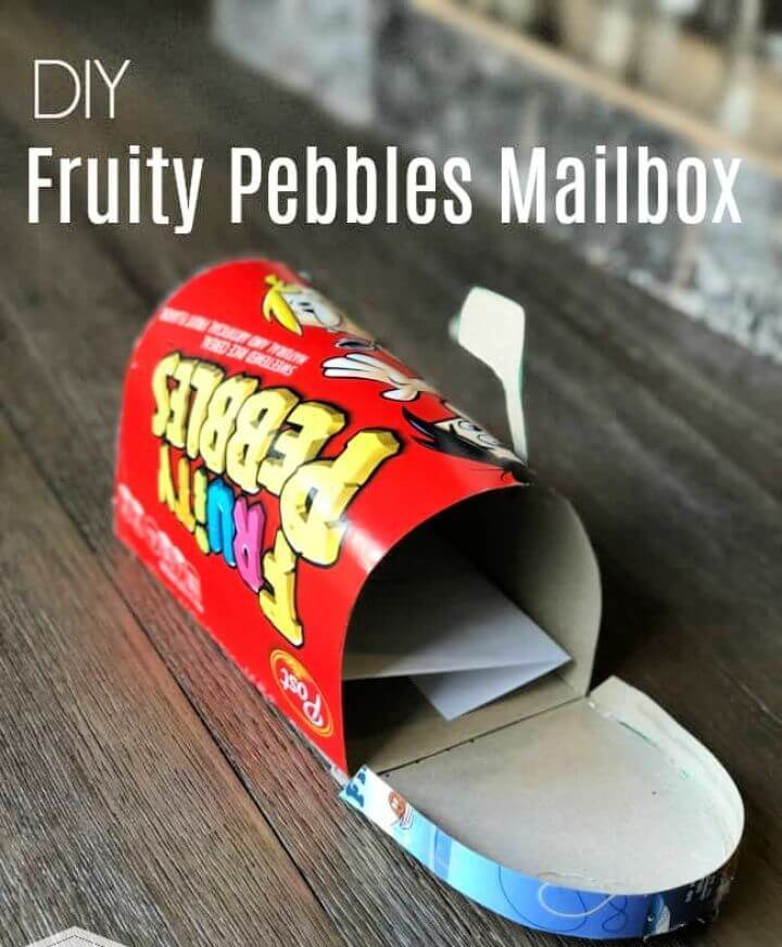 How To Make Your Own A DIY Cereal MailBox
