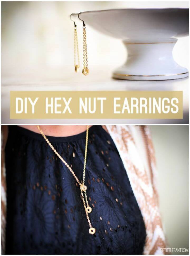 How To Make Your Own DIY Hex Earrings