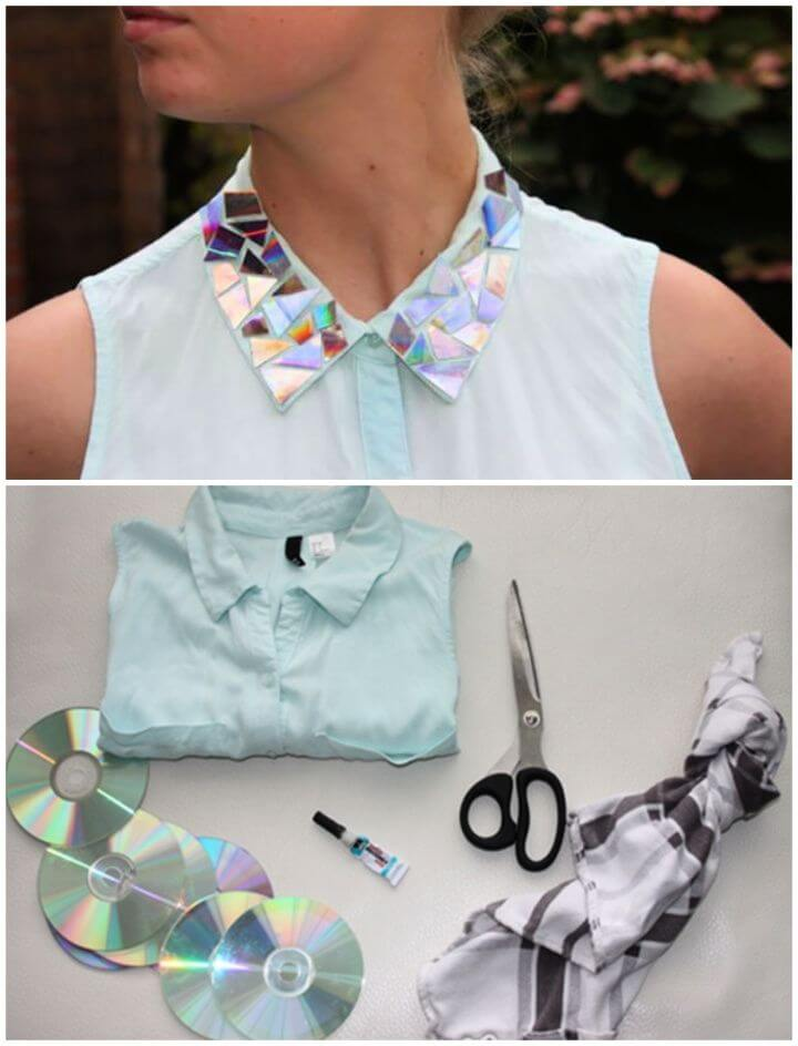 How To Make Your Own DIY Shiny Collar
