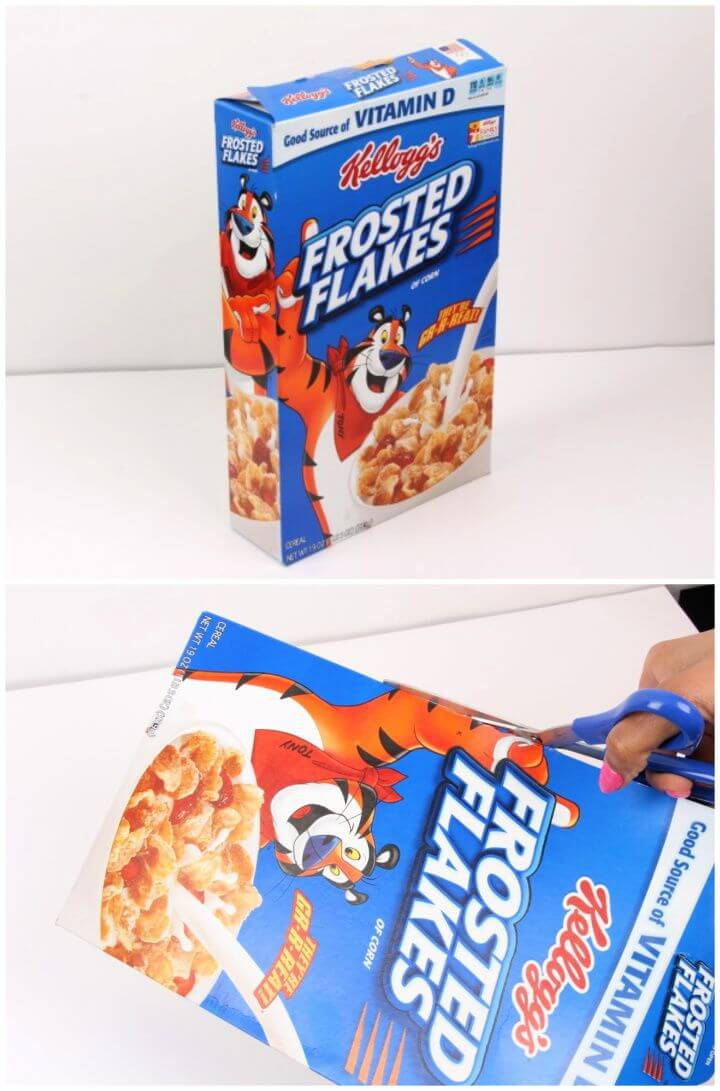 How To Transform Your Cereal Box into a Sailboat