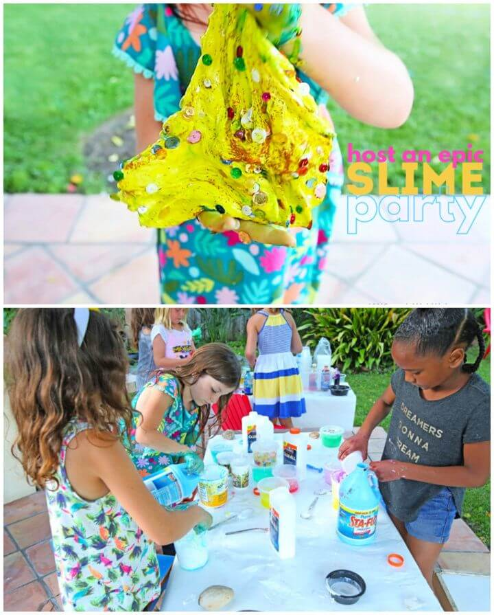 How to Create DIY Host an Epic Slime Party