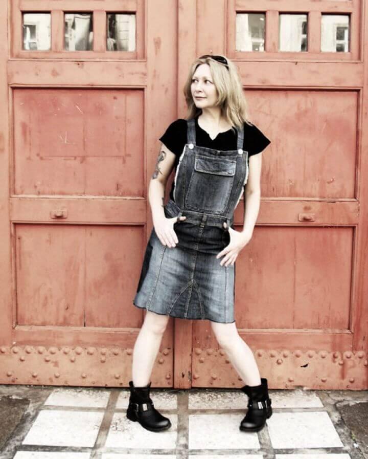 Kittenhood Inspired DIY Overall Dress Tutorial