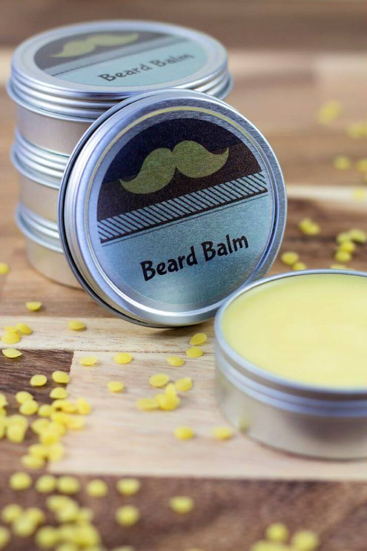Make A DIY Cedarwood Beard Balm