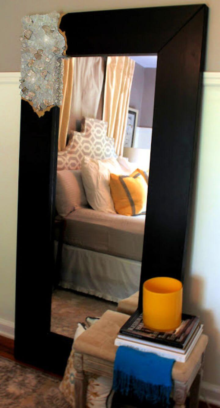 Make A DIY Rough Quartz Mirror