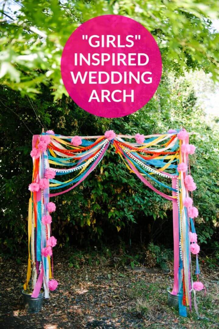 Make Your Own DIY Bohemian Wedding Arch