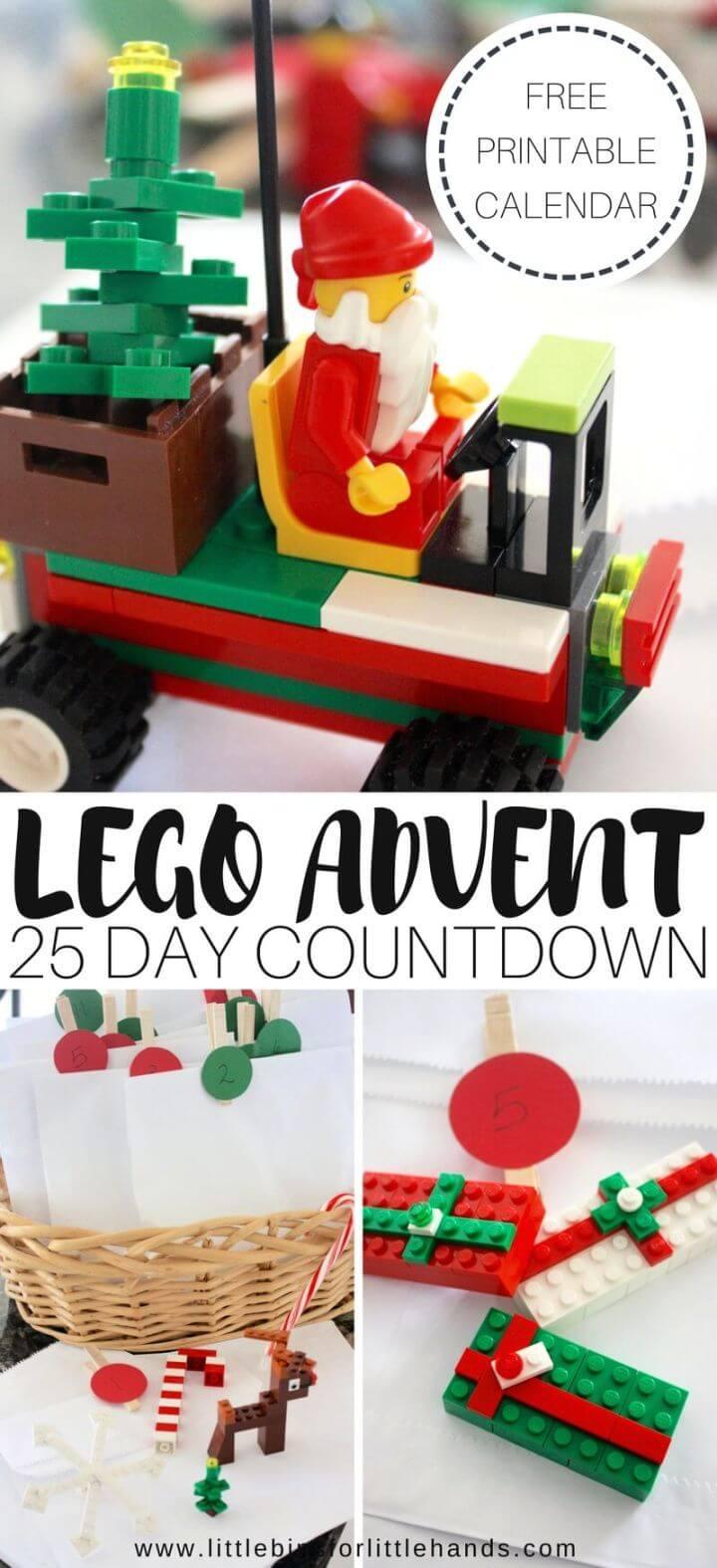 Make Your Own DIY Lego Advent Calendar
