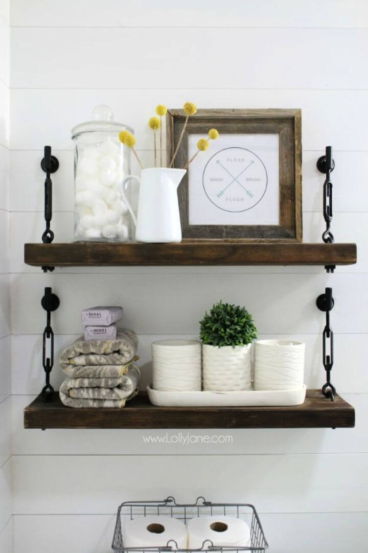 Make Your Own DIY Turnbuckle Shelf