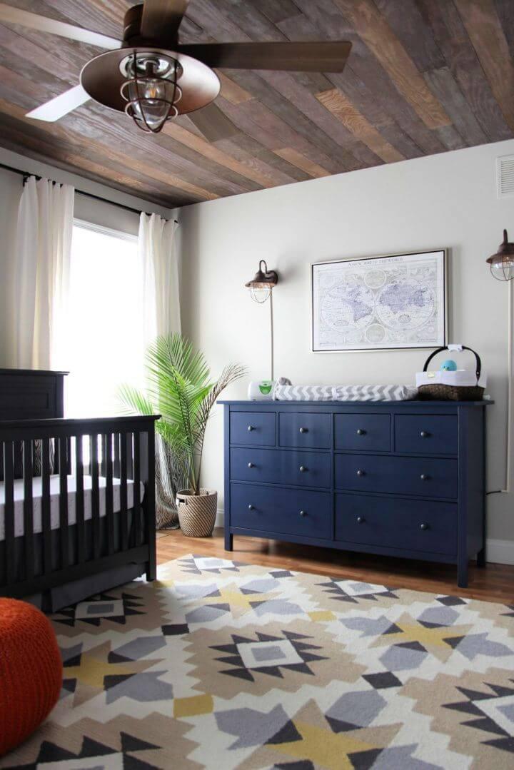 Peaceful DIY Woodland Nursery Decor