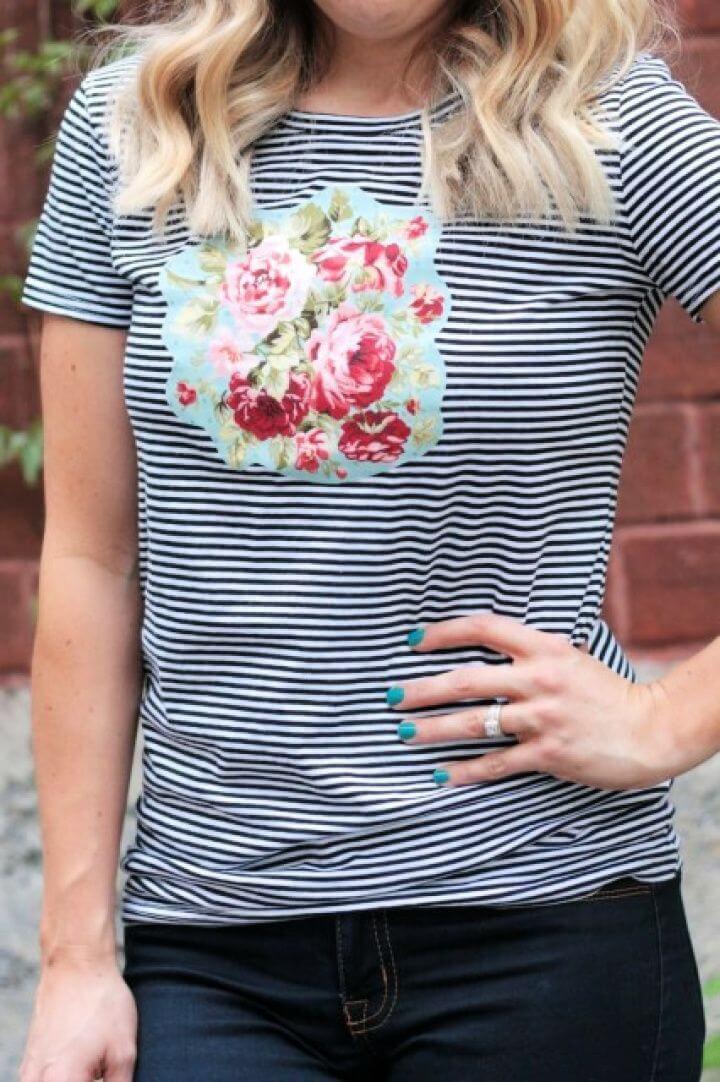Simple DIY No Sew Floral Tutorial