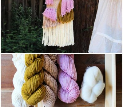 Simple DIY Woven Wall Hanging