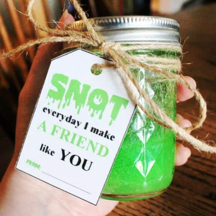 Snot Slime – DIY Slime Recipe