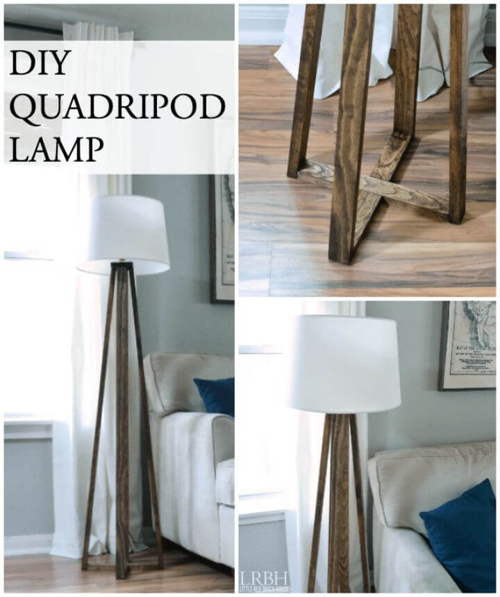 Build Your Own DIY Quadripod Lamp