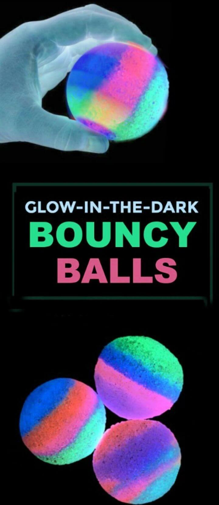 DIY Homemade Bouncy Balls