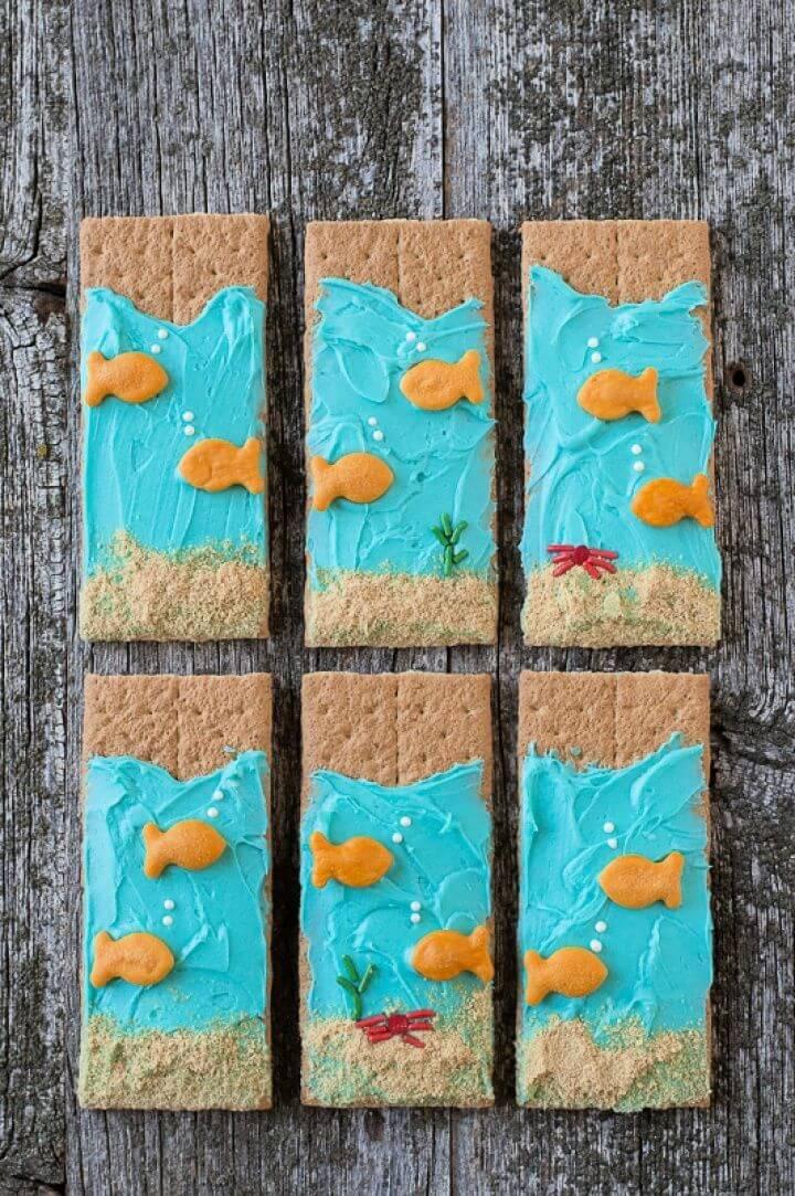 DIY Sea Graham Crackers