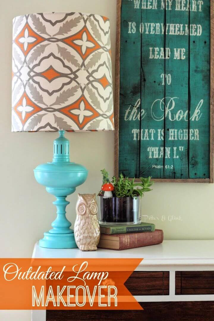 DIY Thrift Store Lamp Makeover