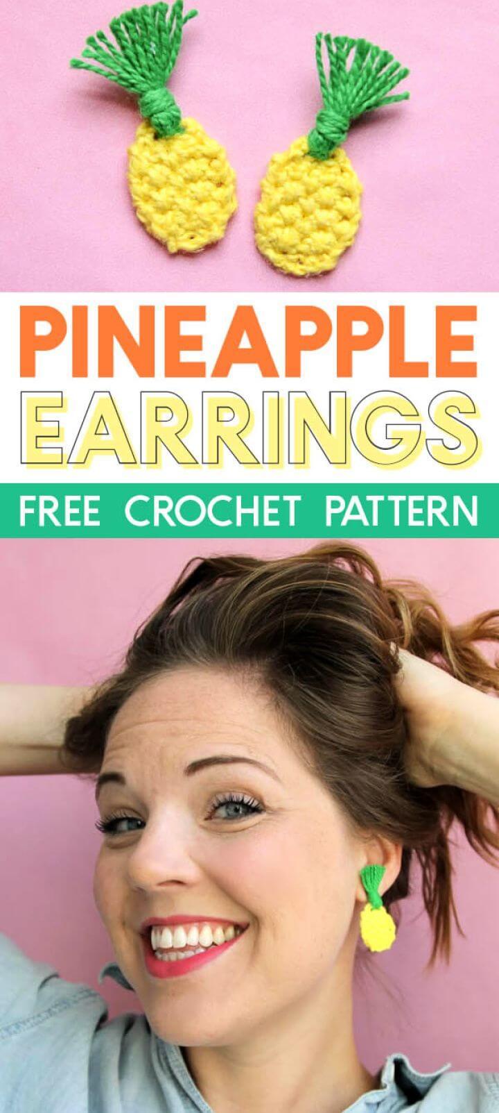Free Crochet Pineapple Pattern
