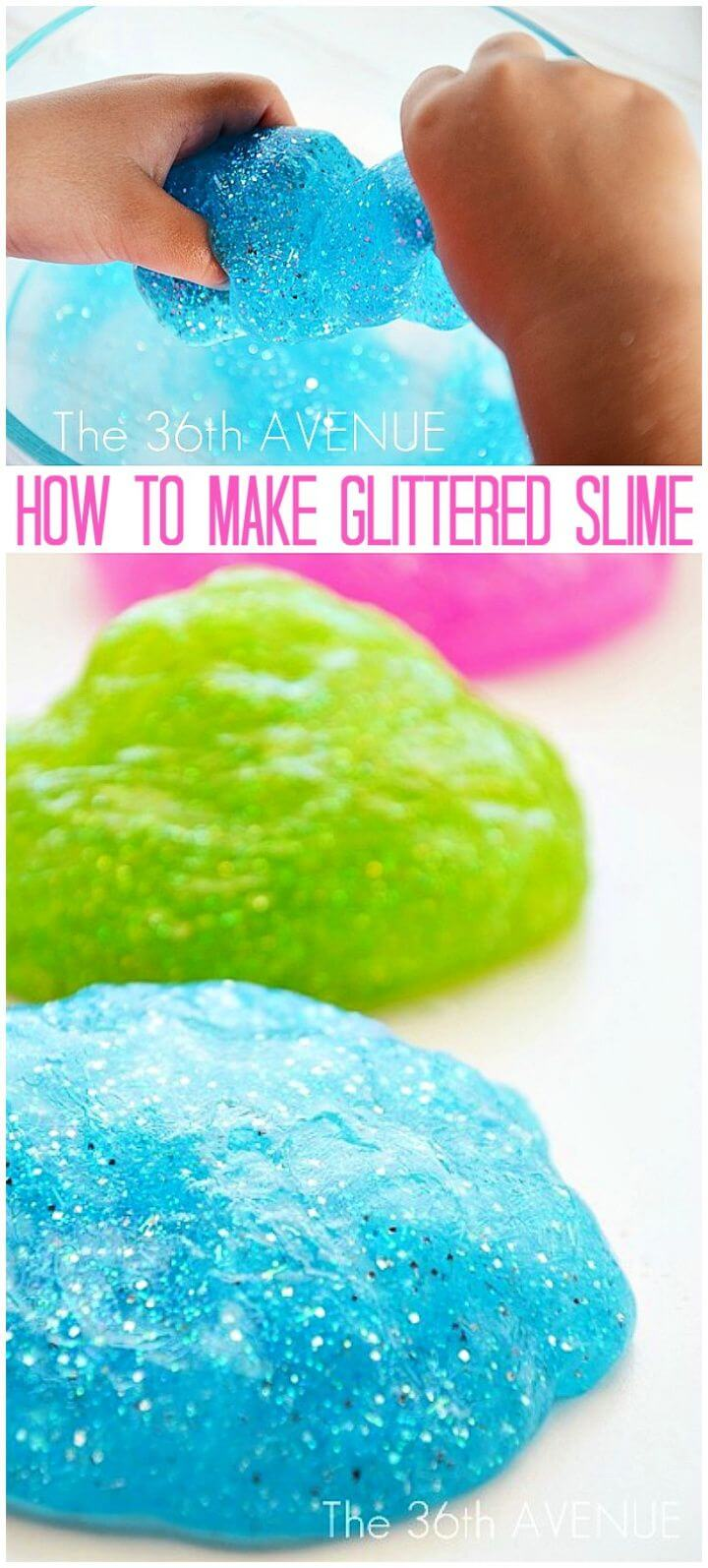 How To Create A DIY Glitter Slime