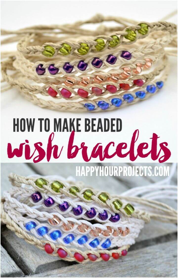 How To Create Your Own DIY Wish Bracelets