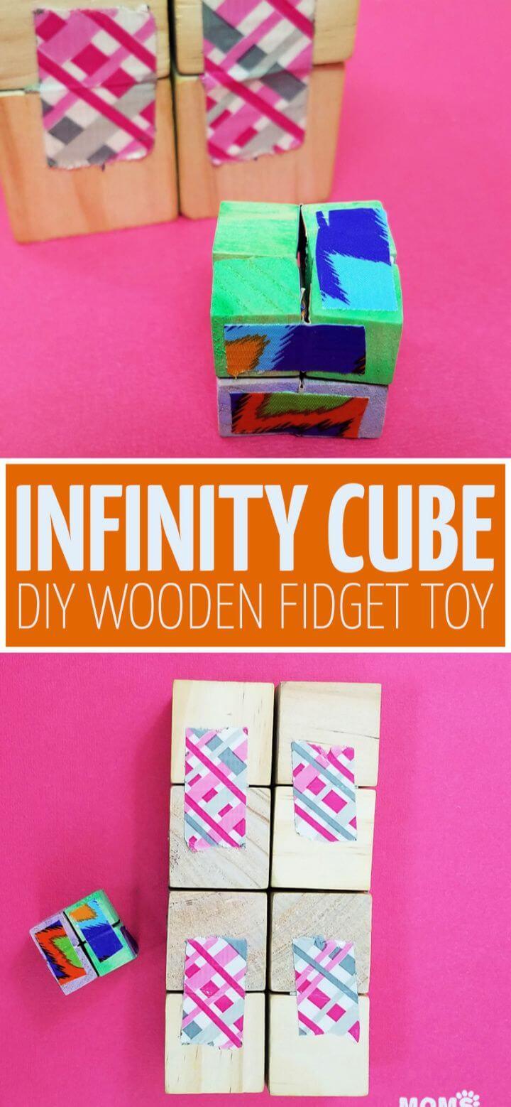 How To DIY Infinity Cube Fidget Toy