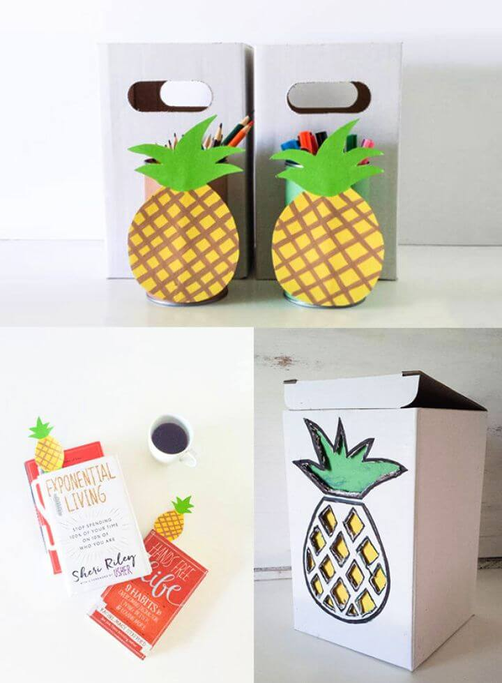 How To DIY Pineapple Crafts For The Family