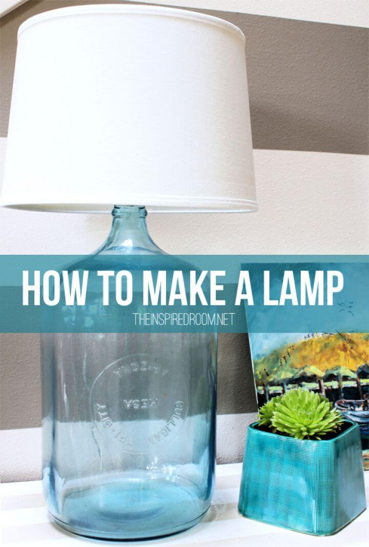 How To Make A DIY Lamp