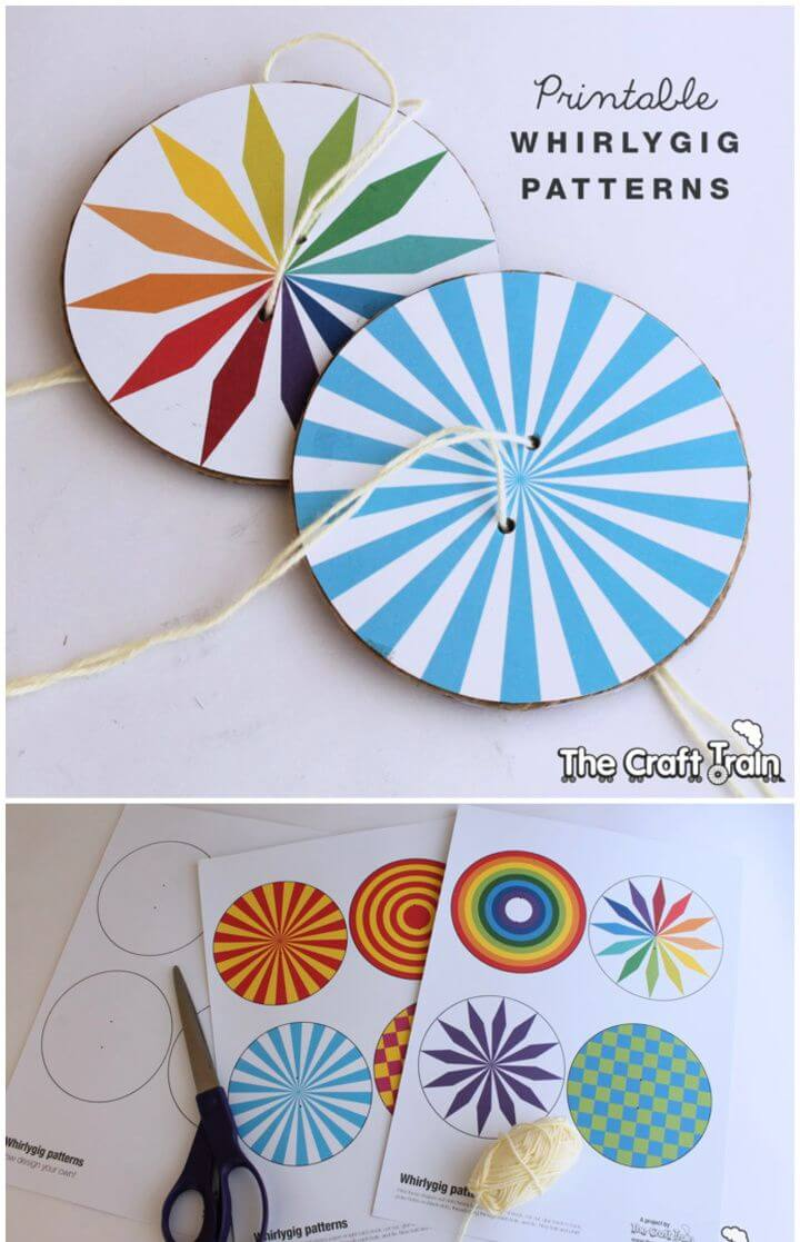 How To Make Your Own A DIY Whirlygig