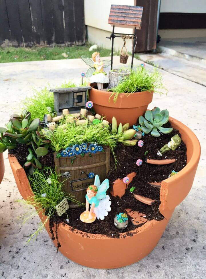 Make Your Own DIY Fairy Garden
