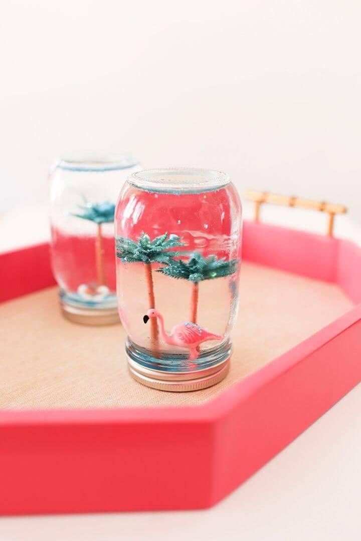 Make Your Own DIY Summer Snow Globes